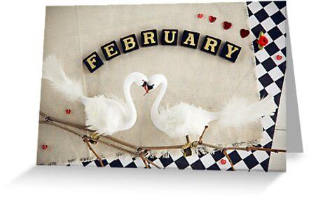 February by Yuliya Art