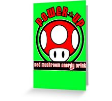 Power-Up Energy Drink 2 Greeting Card