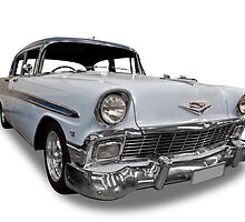 Chevrolet - 1956 Sedan by axemangraphics