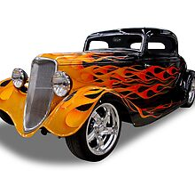 Ford - 1934 Coupe by axemangraphics