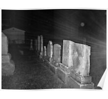 Haunted Rays Pompton Plains Cemetery Poster