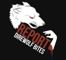 Direwolf bites are dire! by thisisjoew