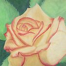 Two-tone Rose by Rhonda Walker