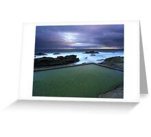 """A Scenic Swim"" ∞ Bermagui, NSW - Australia Greeting Card"
