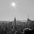 NY downtown B&W by Watzmann71