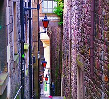 Anchor Close - Edinburgh Old Town by Mark  Johnstone