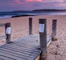 Walkway, along Long Reef beach..... by stufotoart