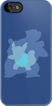 Pokemon - Squirtle Family iPhone / iPod Cover by Aaron Campbell