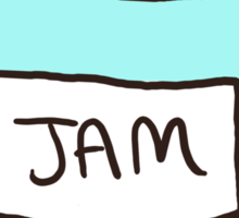 Sherlock, John, and Jam Sticker