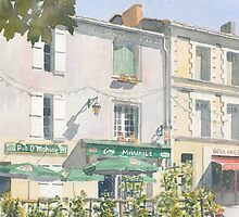 Chez Maurice, Montbron, France by ian osborne