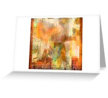 Sunset over the Mohave Desert Greeting Card