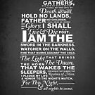 The Night's Watch Oath by mcgani