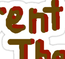 Team Trent The Beta Sticker