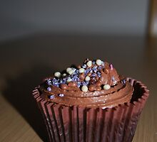 Homemade Chocolate cupcake by Hcottenden520