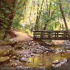 Bridge to the Falls by Karen Ilari