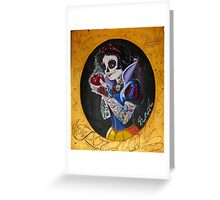 Poisoned Princess Greeting Card