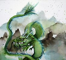 Chinese Earth Dragon by Shoshanna Bauer