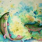 Rainbow Trout by Shoshanna Bauer