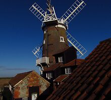 Cley Windmill, Norfolk (2) by wiggyofipswich