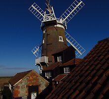 Cley Windmill, Norfolk (2) by wiggyofipswich