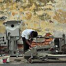Scrap Metal Dealer, Malay Street by S T