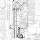 Furness Abbey Pillar by Colin Bentham