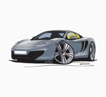 McLaren MP4-12c Silver by Richard Yeomans