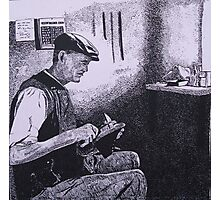 The Cobbler Photographic Print