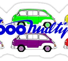 600 MULTIPLA  Sticker