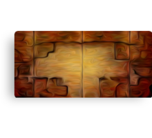 Abstract Wall Oil Painting Canvas Print
