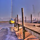 Jetty at Skippool Creek by Darren Kitchen
