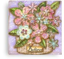 Believe Blossoms Canvas Print
