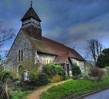 St. Marys, Stodmarsh, Kent by Kim Slater