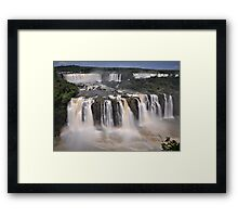 Tiered Falls #2 Framed Print