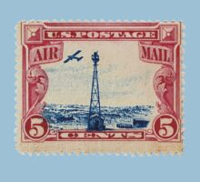 Air Mail Stamp: Politburo Design by richard b. hamer