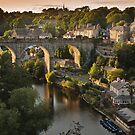 Knaresborough sunset by Dave Milnes