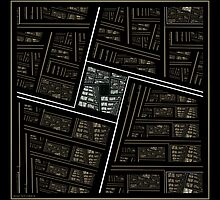 The Crocked Library by viennablue