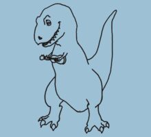 T-Rex Playing a Ukulele by Ocarina04