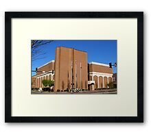 Macon County Courthouse Framed Print
