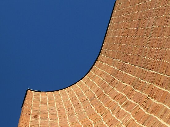 Courthouse Curve by Jean Gregory  Evans