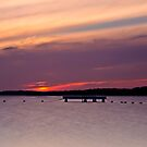 Lake Macquarie Sunset by bazcelt