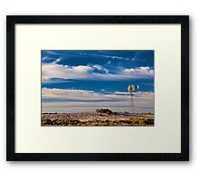 Catch the Wind - Mungo NP, NSW Framed Print