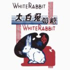 White Rabbit Candy Wrapper by Phil South