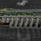 Moonlight Dam by debidabble