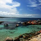 Moored at the Bay of Fires by oddoutlet