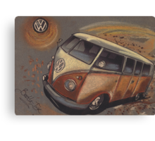 Space Bus Canvas Print