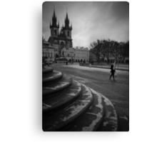 leave behind your memories Canvas Print