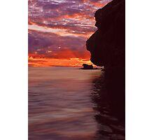 Dusk over Monkey Island Photographic Print