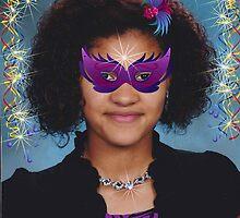 Sparkly Mardi Gras by Linda Miller Gesualdo