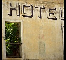 Broken Hotel - Old San Juan, PR by H20pulse
